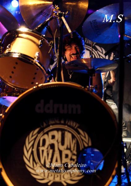 Drum Wars 1 Carmine & Vinny Appice/Drum Wars   1 noviembre de 12   Sala Caracol (Madrid)