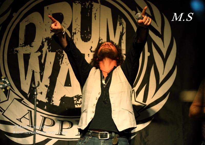 Drum Wars 10 Carmine & Vinny Appice/Drum Wars   1 noviembre de 12   Sala Caracol (Madrid)