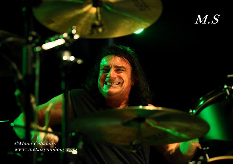 Drum Wars 13 Carmine & Vinny Appice/Drum Wars   1 noviembre de 12   Sala Caracol (Madrid)