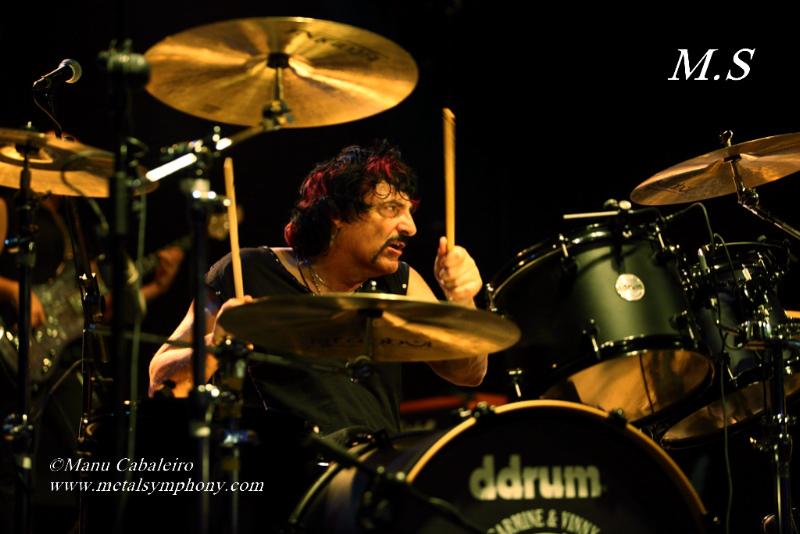 Drum Wars 15 Carmine & Vinny Appice/Drum Wars   1 noviembre de 12   Sala Caracol (Madrid)