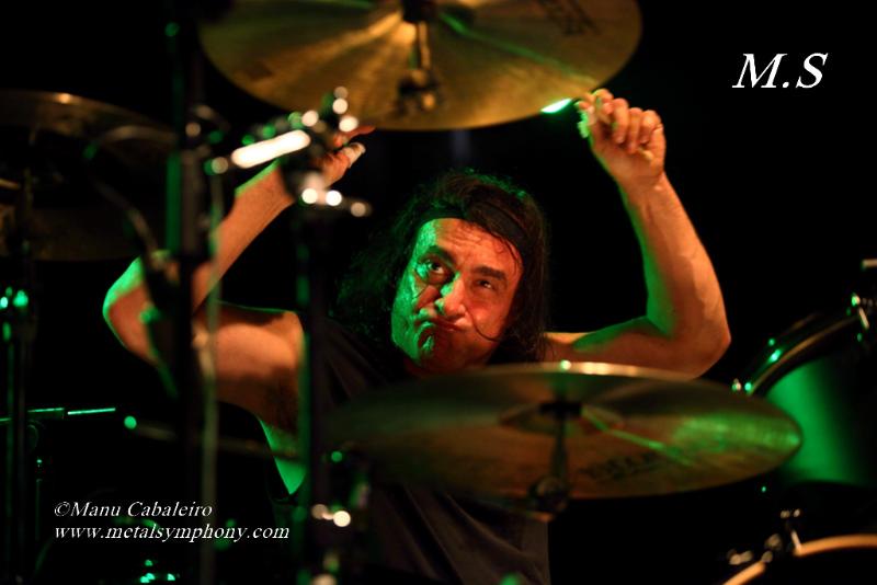 Drum Wars 18 Carmine & Vinny Appice/Drum Wars   1 noviembre de 12   Sala Caracol (Madrid)