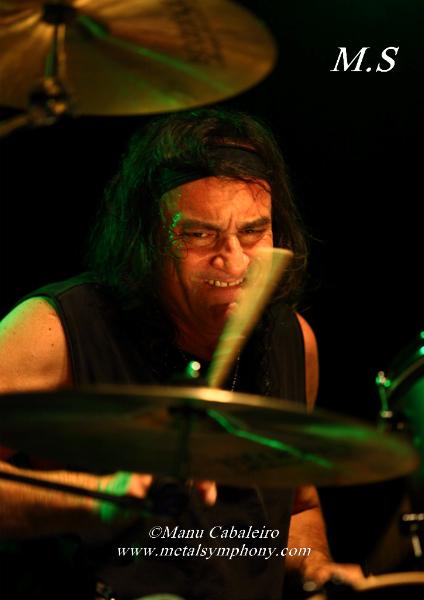 Drum Wars 9 Carmine & Vinny Appice/Drum Wars   1 noviembre de 12   Sala Caracol (Madrid)