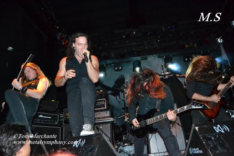 DSC 0187 Kamelot + Xandria + Triosphere + Blackguard   11 de Noviembre12   Sala Caracol (Madrid)