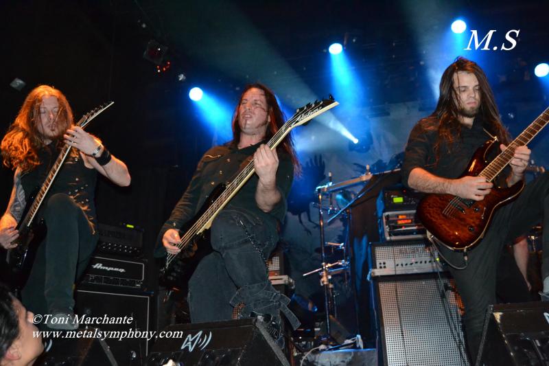 DSC 0191 Kamelot + Xandria + Triosphere + Blackguard   11 de Noviembre12   Sala Caracol (Madrid)