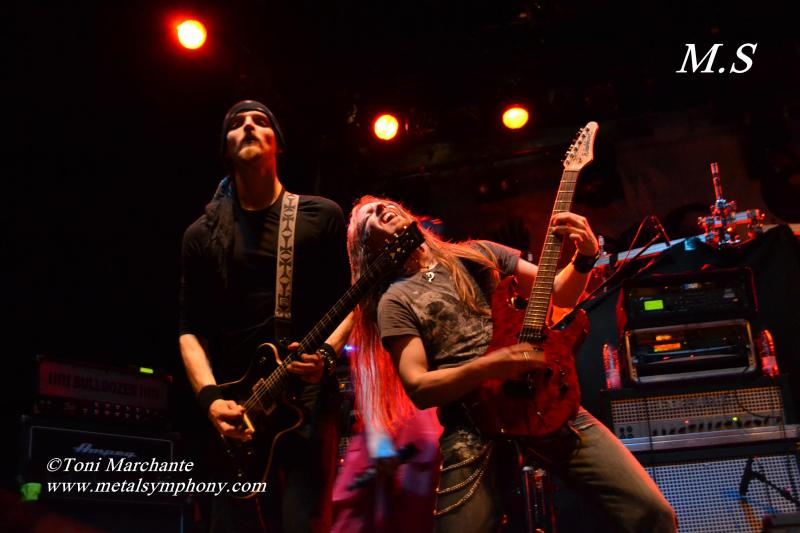 DSC 0419 Kamelot + Xandria + Triosphere + Blackguard   11 de Noviembre12   Sala Caracol (Madrid)
