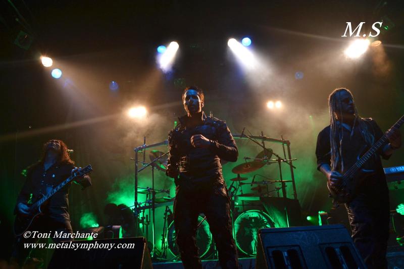 DSC 0662 Kamelot + Xandria + Triosphere + Blackguard   11 de Noviembre12   Sala Caracol (Madrid)