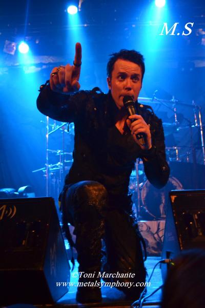 DSC 0742 Kamelot + Xandria + Triosphere + Blackguard   11 de Noviembre12   Sala Caracol (Madrid)