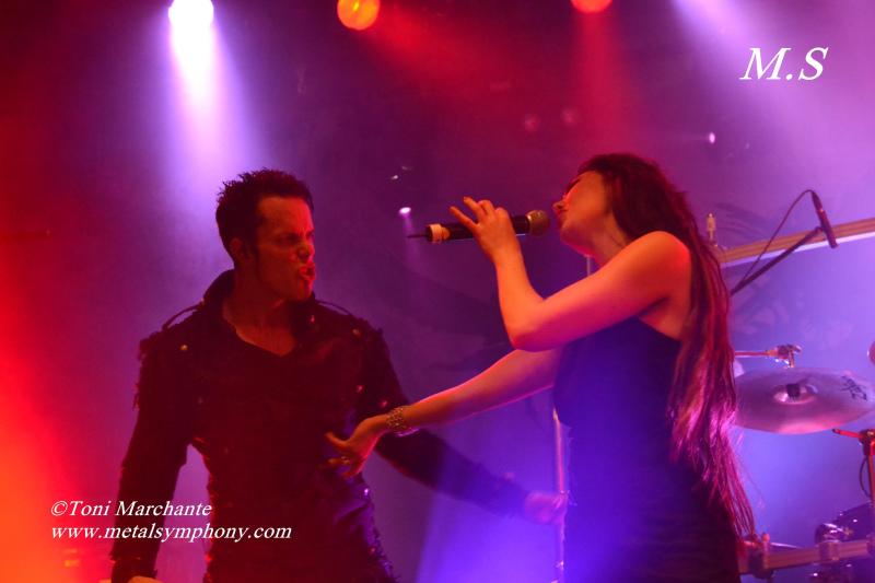DSC 0776 Kamelot + Xandria + Triosphere + Blackguard   11 de Noviembre12   Sala Caracol (Madrid)