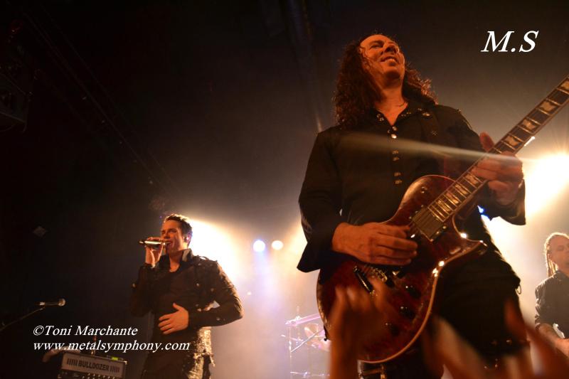 DSC 0844 Kamelot + Xandria + Triosphere + Blackguard   11 de Noviembre12   Sala Caracol (Madrid)