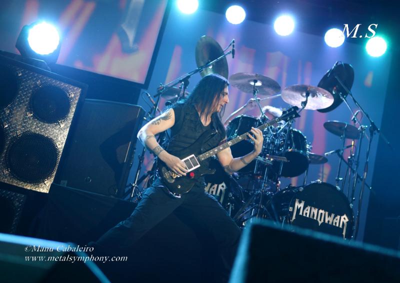 Manowar - 14 de Octubre'12 - Sala La Riviera (Madrid)