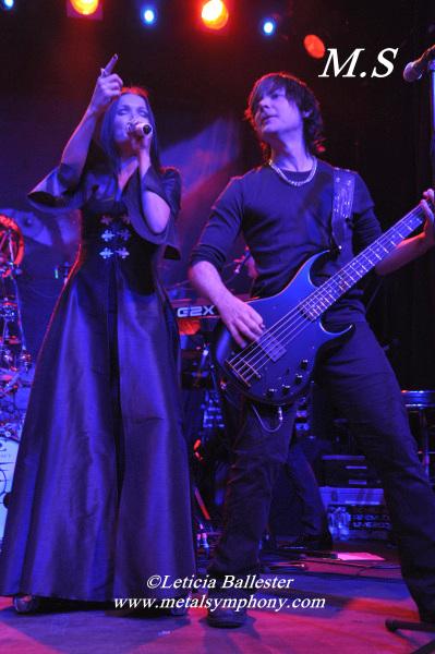 Tarja + Benighted Soul + Hannibal - 18 de Febrero'12 - Sala Arena (Madrid)