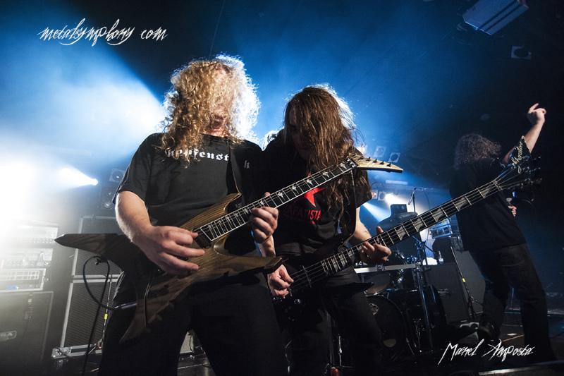 aenemy13 Arch Enemy + Voivod + Titans Eve   27 de octubre12   Sala Razzmatazz 2 (Barcelona)