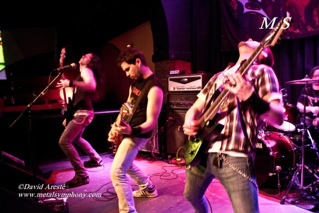 Aggression + Steelgar + Desecration - 24 de Marzo'12 - Sala Zero (Tarragona)