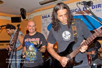 Metal Legend -  22 de Septiembre '12 - Sala Joey (Madrid)
