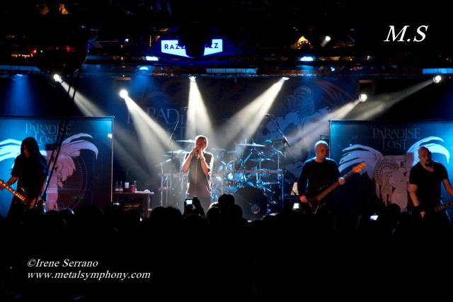 07 Paradise Lost + Soen   6 de Octubre12   Sala Razzmatazz 2 (Barcelona)