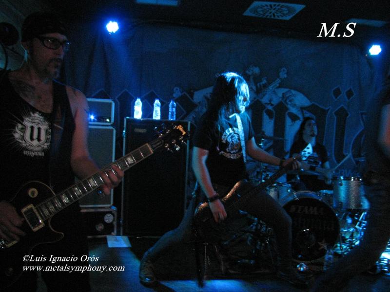 Uzzhuaïa - 2 de Marzo'12 - Sala Arena Rock (Zaragoza)