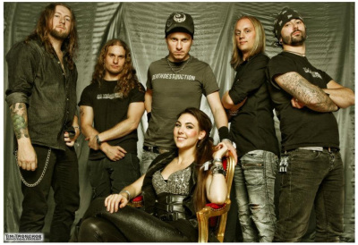 Interview with Amaranthe