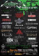 Detalles y bandas del primer festival ArrowsNight