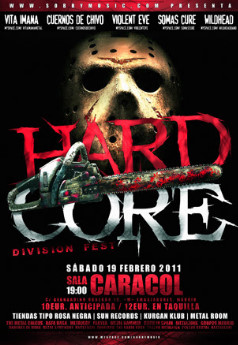 hard11 Hamlet, Inlogic, Vintage, Tears of Martyr, The Poodles, Steve Lukather...