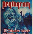 Este domingo Pentagram en Madrid