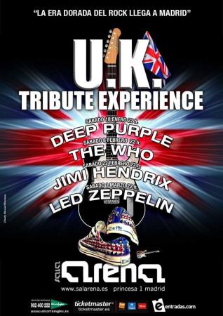 Llega la U.K Tribute Experience a Madrid
