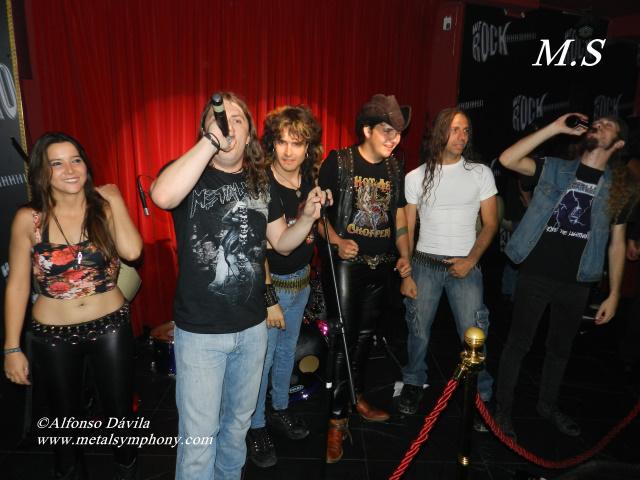 """Fiesta de inauguración de la sala """"We Rock"""" en Madrid"""