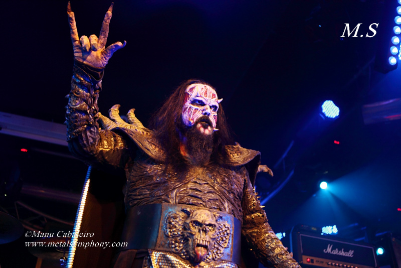 lordi 1 Lordi + Collateral Damage + Reverse Grip – 25 de Abril13 – Sala Penélope (Madrid)