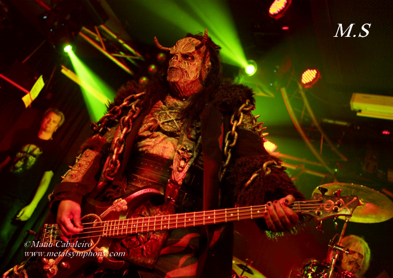 lordi 5 Lordi + Collateral Damage + Reverse Grip – 25 de Abril13 – Sala Penélope (Madrid)