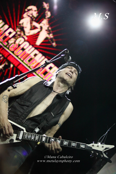 msg 10 Michael Schenker Group + RadioZ – 2 de Junio13 – Sala Arena (Madrid)