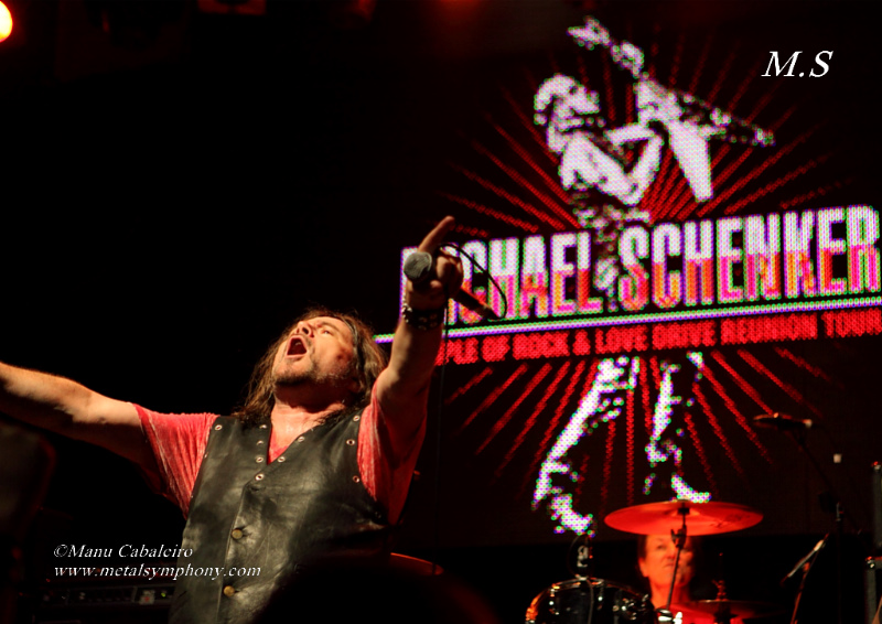 msg 13 Michael Schenker Group + RadioZ – 2 de Junio13 – Sala Arena (Madrid)