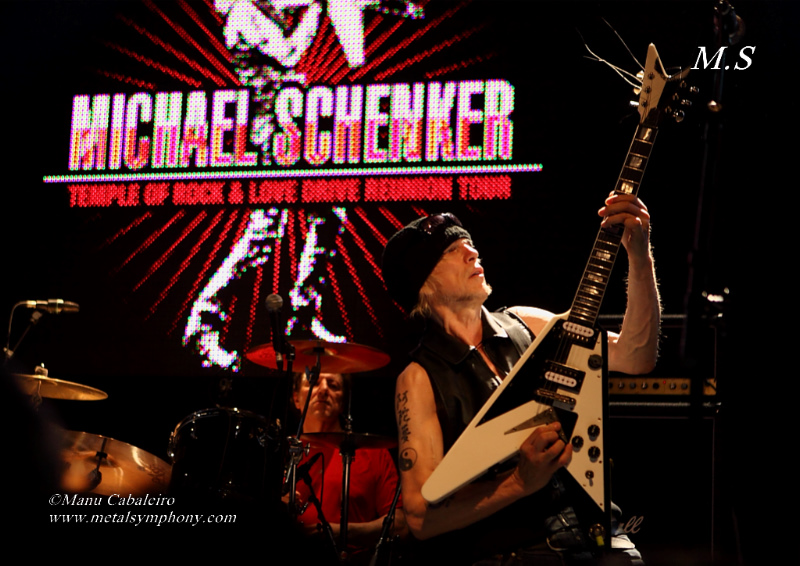 msg 17 Michael Schenker Group + RadioZ – 2 de Junio13 – Sala Arena (Madrid)