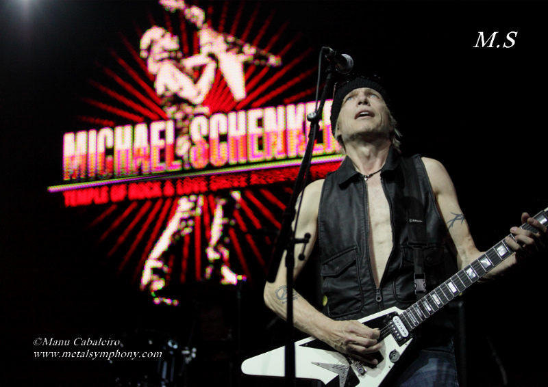 msg 4 Michael Schenker Group + RadioZ – 2 de Junio13 – Sala Arena (Madrid)