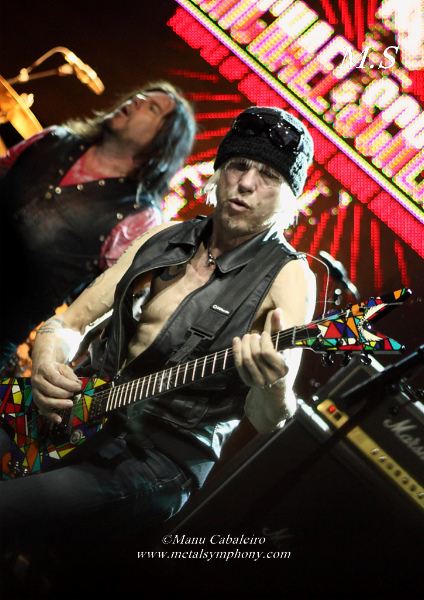 msg 6 Michael Schenker Group + RadioZ – 2 de Junio13 – Sala Arena (Madrid)