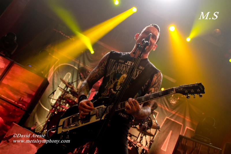 DSC0320 Volbeat + Iced Earth   22 de Octubre13   Sala Apolo (Barcelona)