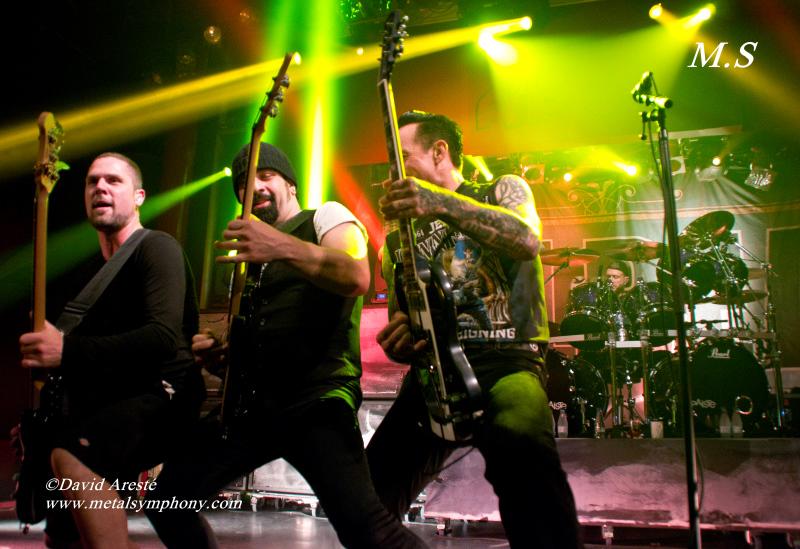 DSC0348 Volbeat + Iced Earth   22 de Octubre13   Sala Apolo (Barcelona)