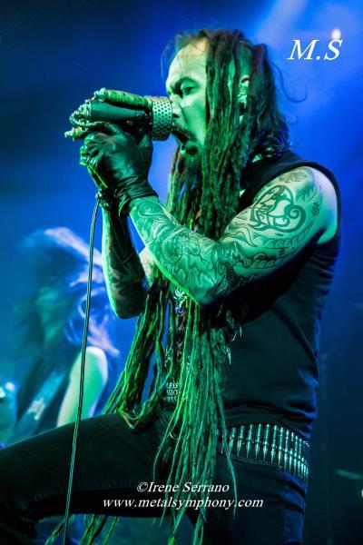 02 Amorphis + Starkill   12 de Noviembre13   Sala Apolo (Barcelona)