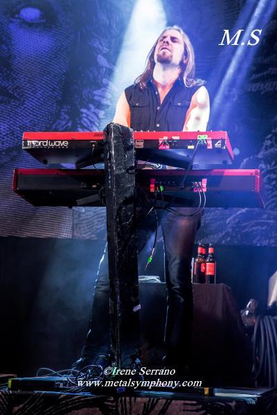 22 Amorphis + Starkill   12 de Noviembre13   Sala Apolo (Barcelona)
