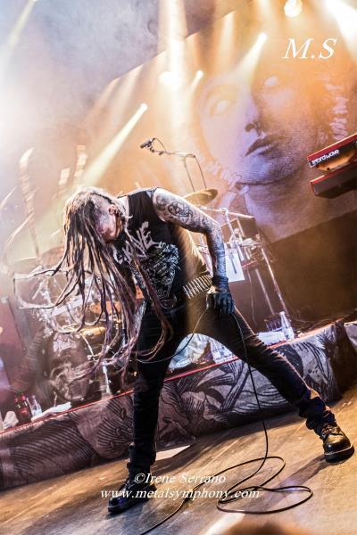 35 Amorphis + Starkill   12 de Noviembre13   Sala Apolo (Barcelona)