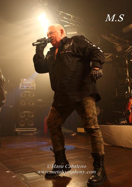 UDO 4 U.D.O+Primal Fear+Bullet+Messenger – 31 de Enero14 – Sala Penélope (Madrid)