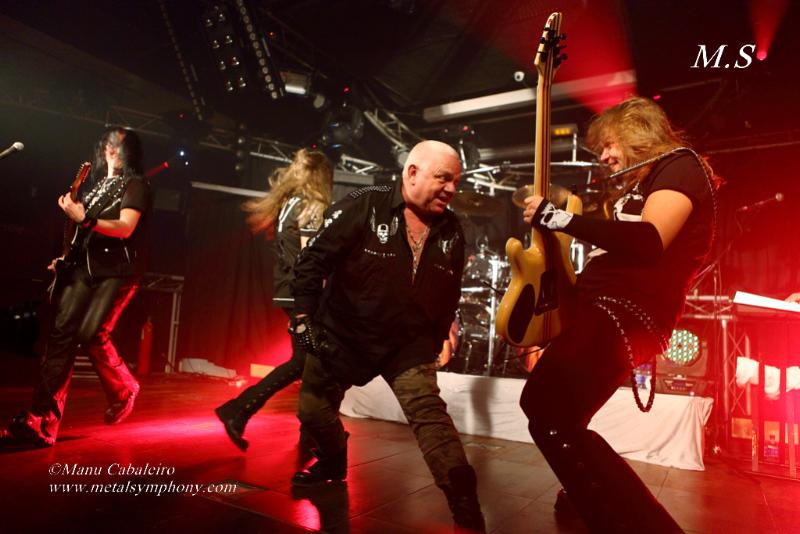 UDO 8 U.D.O+Primal Fear+Bullet+Messenger – 31 de Enero14 – Sala Penélope (Madrid)