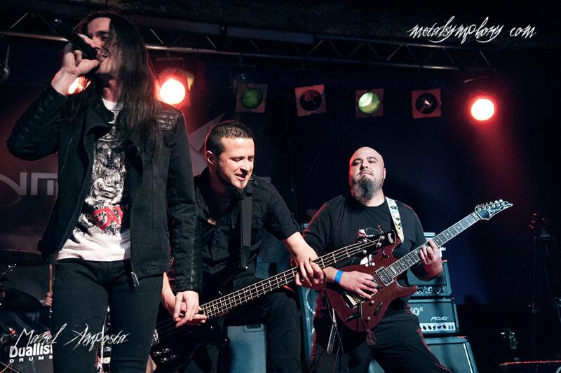 Blaze Bayley + Inmoonere + Dr.X - 14 de Marzo'14 - Sala Bóveda (Barcelona)