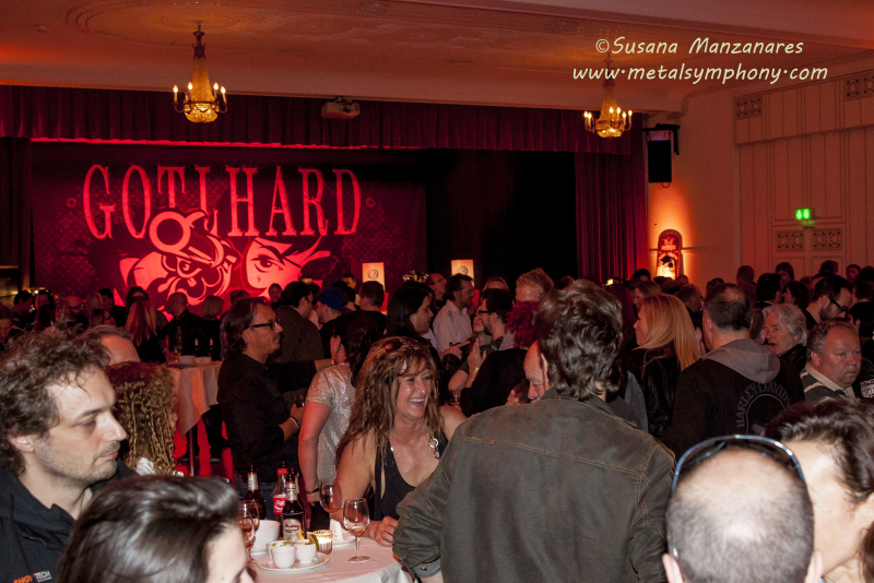 Gotthard Special Release Show - 11 de abril'14 - Volkshaus (Zürich - Suiza)