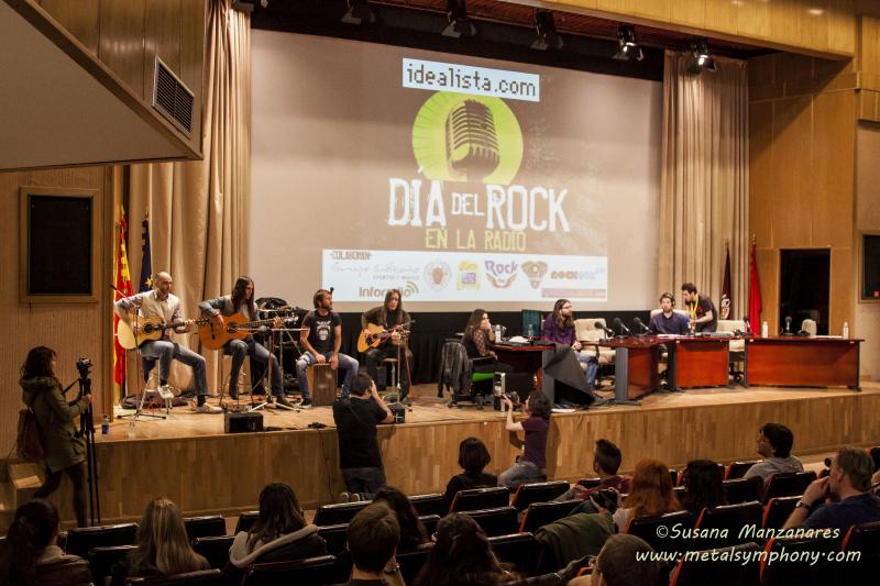 Susan Santos + Los Coronas: Día del Rock en la Radio – 24 de Abril '14 // F.C. de la Información (U.Complutense de Madrid)