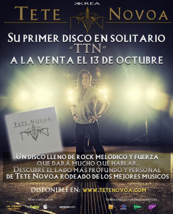 Detalles y presentación en directo del primer disco de Tete Novoa en Madrid