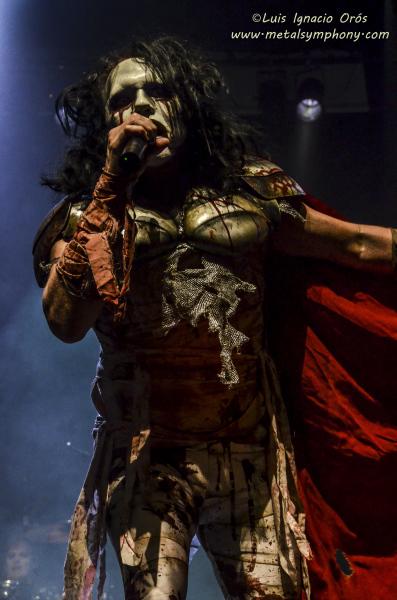 Killus  + Lizzy Borden + Los Lügers  - 7 de noviembre'14 - Teatro De Las Esquinas  (Zaragoza)