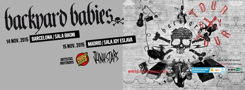 Backyard Babies de gira por España