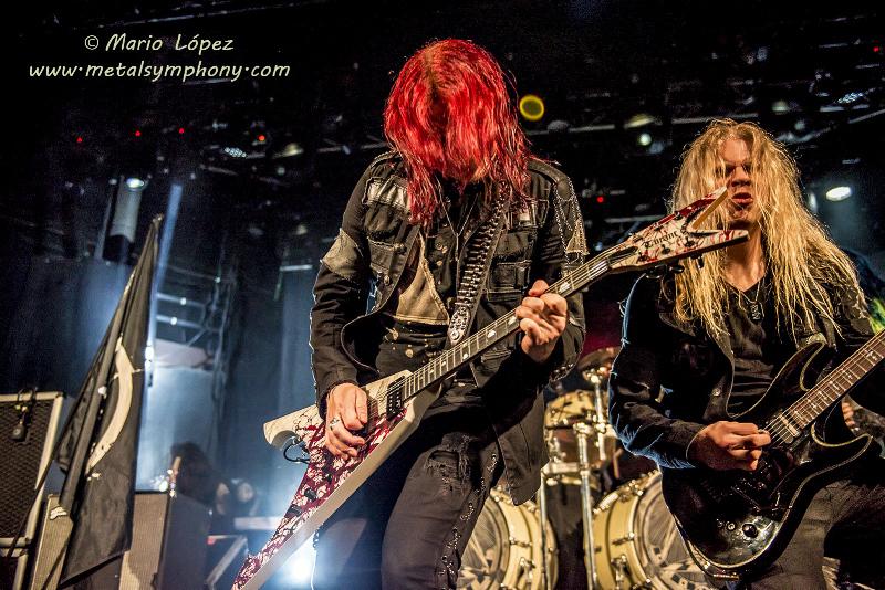 Arch Enemy - 3 de Febrero'15 - Sala Blondie (Santiago de Chile)