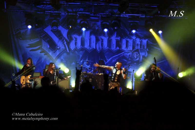 Sabaton + Korpiklaani + Týr – 13 diciembre'14 – Sala San Miguel (Madrid)