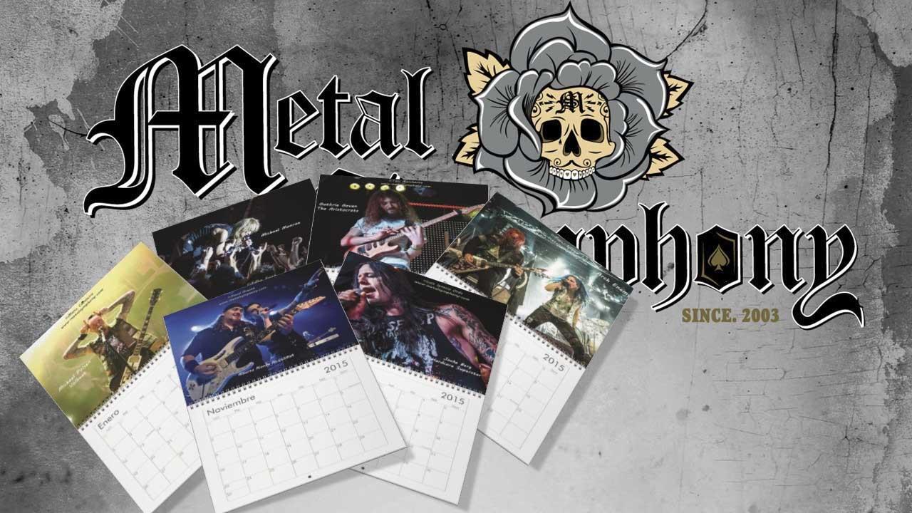 Reserva ya tu calendario del 2015 de MetalSymphony.com!!!