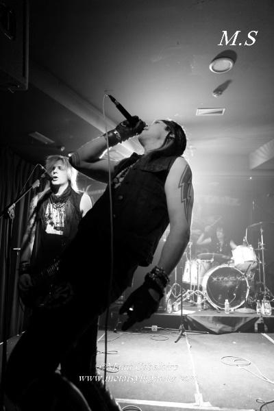 Tigertailz + Xtasy + Phase II Phase - 8 de diciembre'14 - Sala We Rock (Madrid)